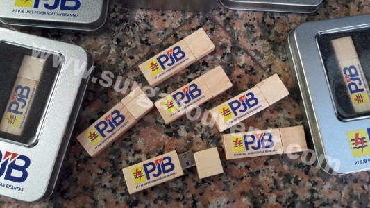 Flash Disk Kayu 4G